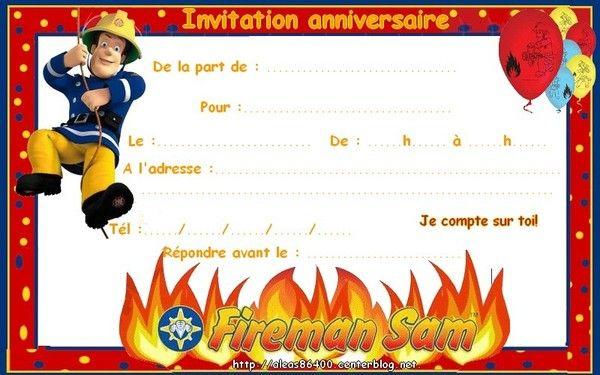 Bien connu cartes sam le pompier BR37