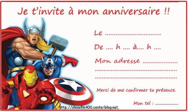 Berühmt invitation Avengers/Marvel 01 ND78