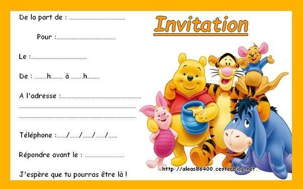 Cartes Winnie Ourson Et Cie