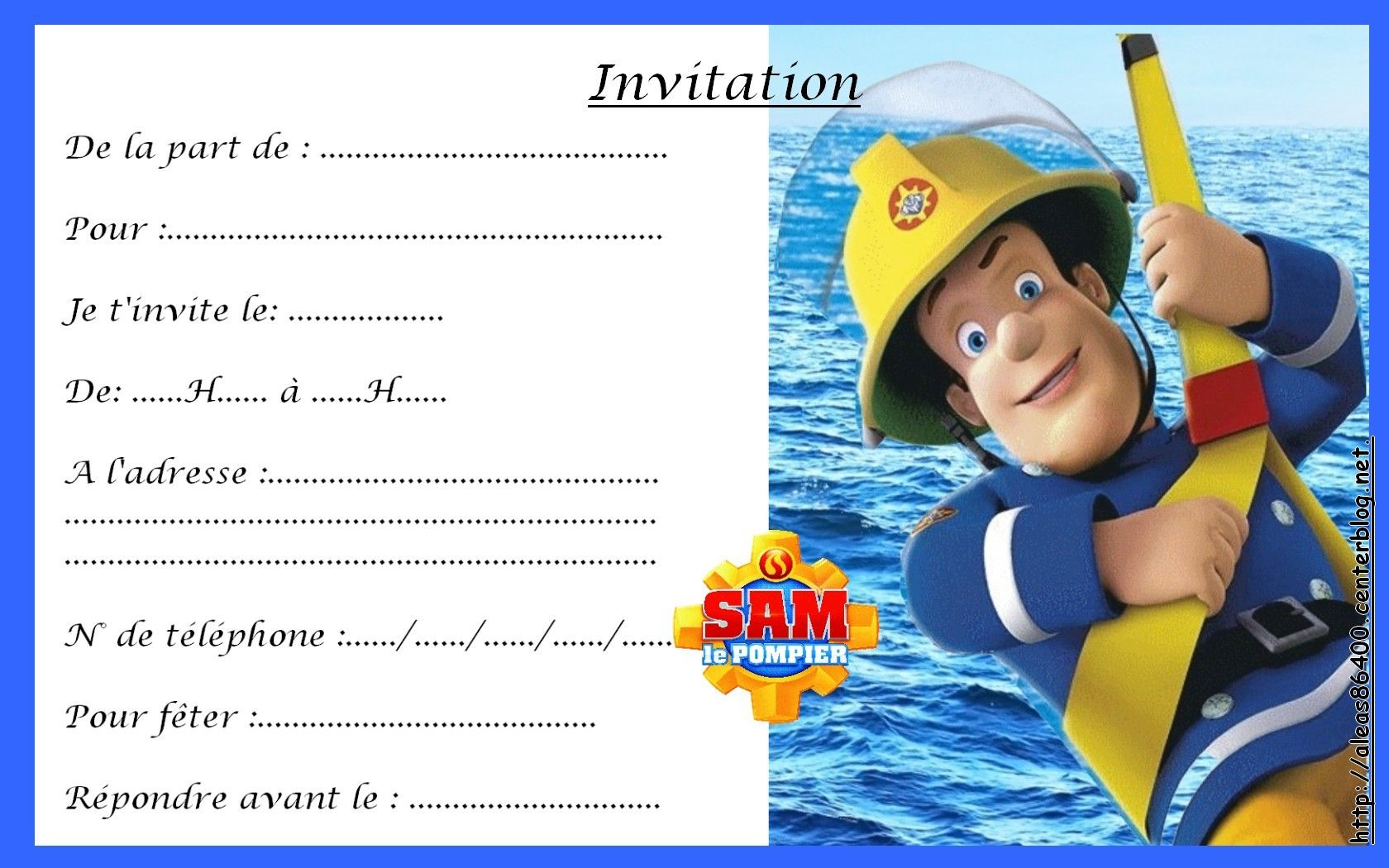 Nemo Invitations as awesome invitations example